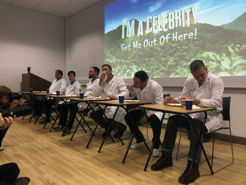 Students Serve Up A Smorgasbord Of Sickly Snacks In Charity Bush Tucker Trial
