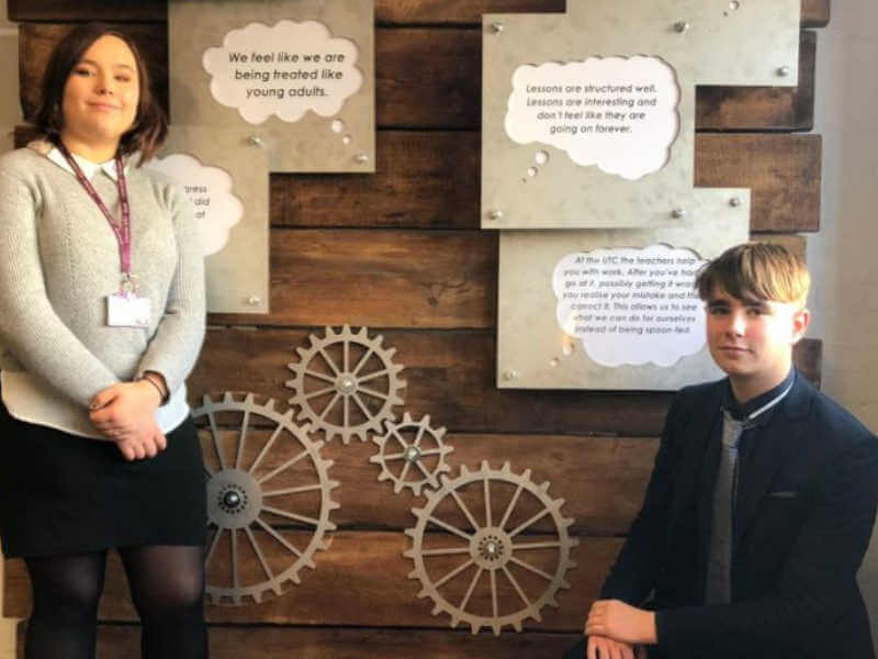 Student Word Of Mouth Recruitment Inspires Work Of Art
