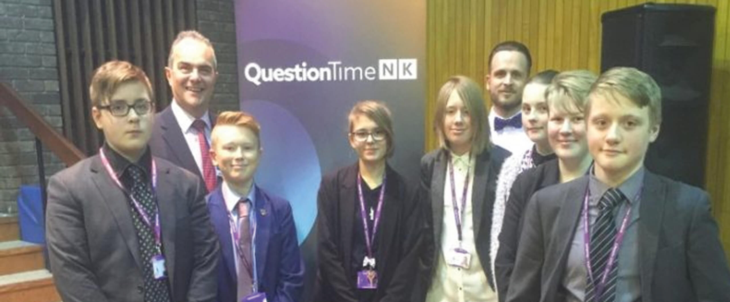 Lincoln UTC Take Part In Question Time Special
