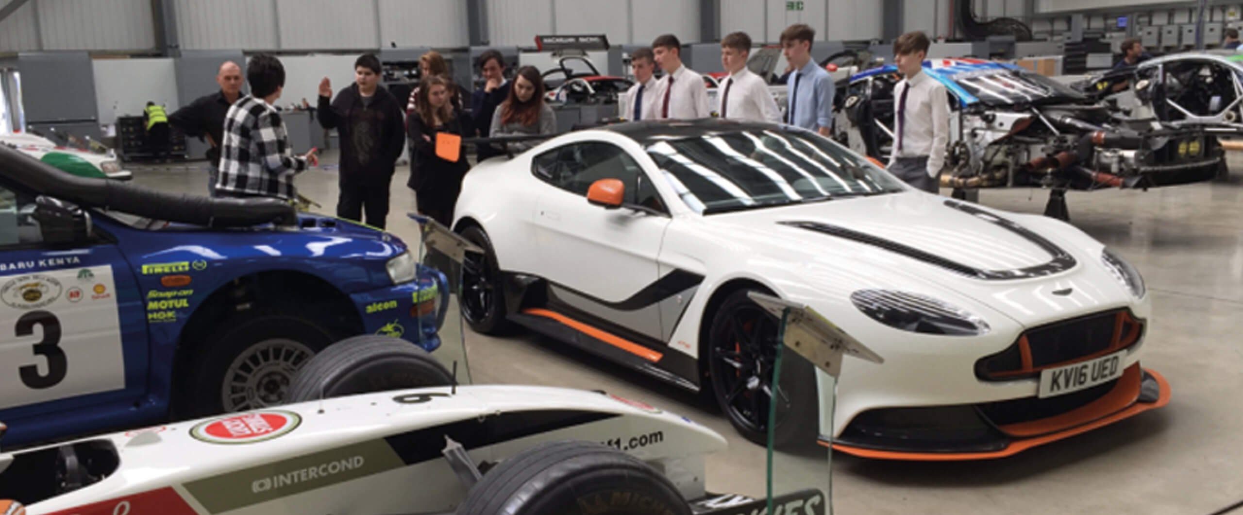 Racing Ahead with Attainment for All at Prodrive